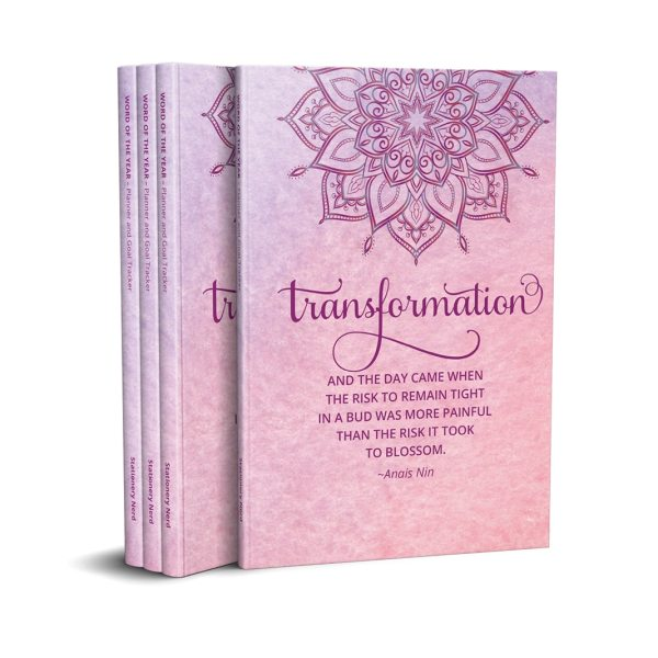 Word of the Year Planner TRANSFORMATION