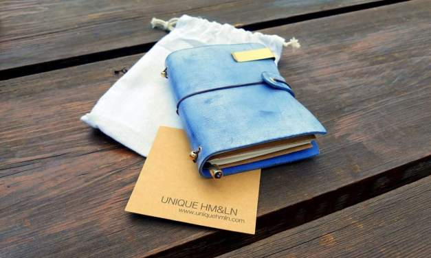 How to Distress and Age a Leather Traveler's Notebook
