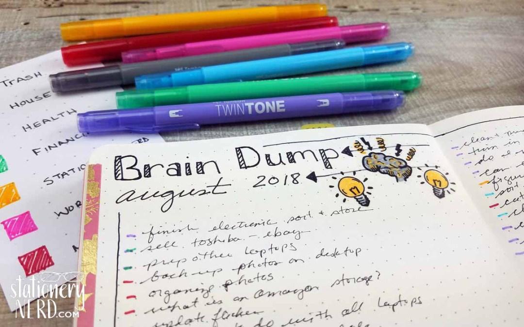Brain Dump List