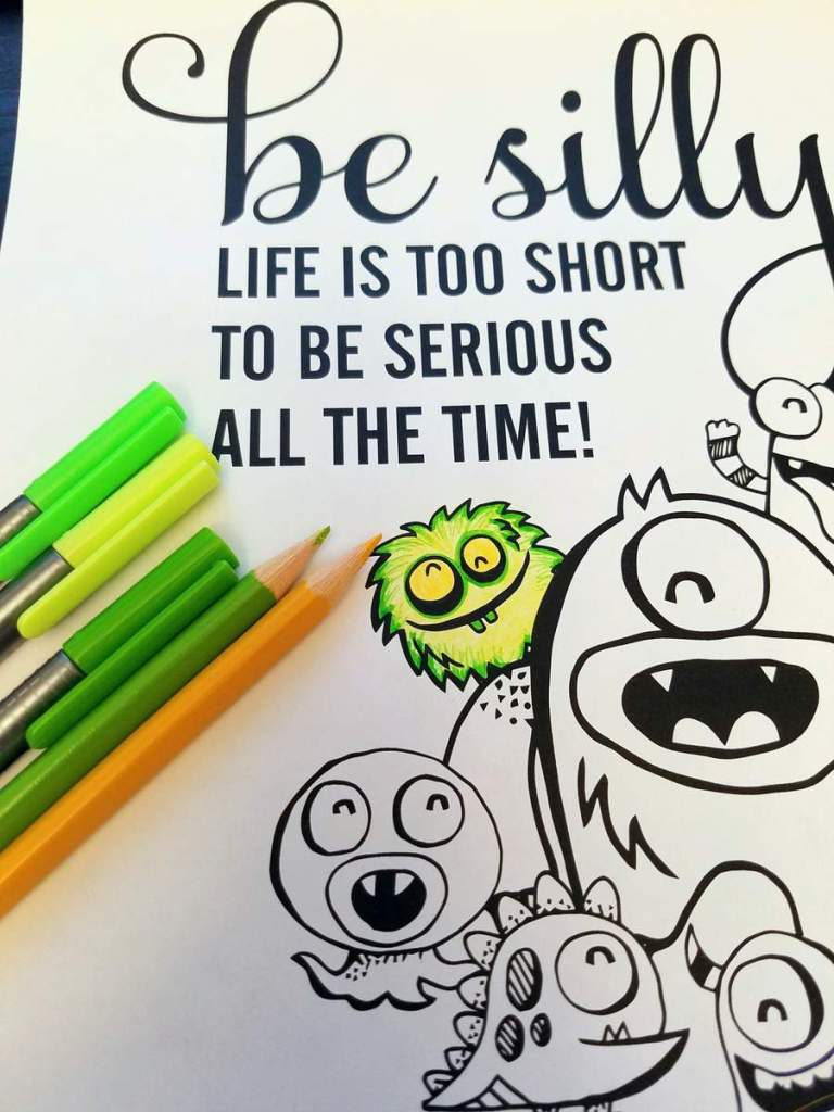 Be Silly Colored