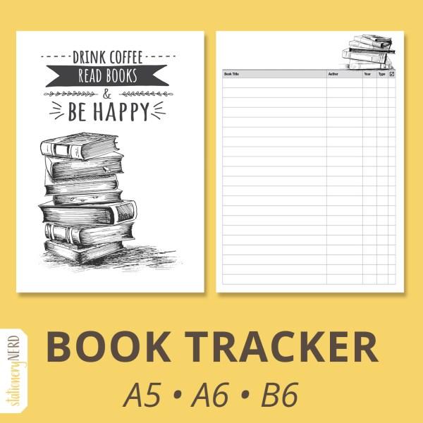 Book Reading Tracker | Stationery Nerd