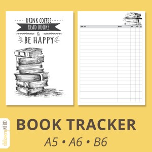 Book Reading Tracker | Stationery Nerd