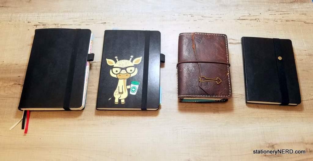 My 2018 Journal Lineup