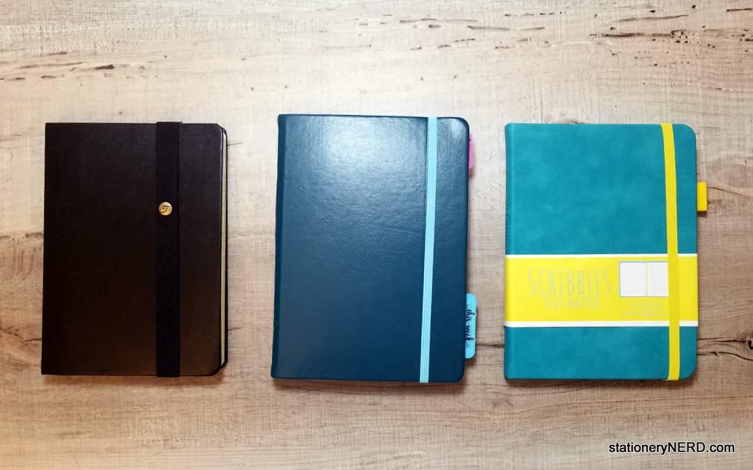 B6 Journals Scribbles, Red Co, Tekukor