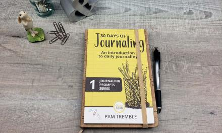 My new book: 30 DAYS OF JOURNALING – peek inside and pen test