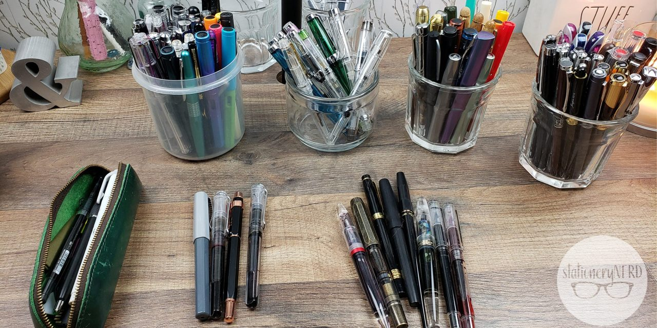 I sorted my ENTIRE fountain pen collection!
