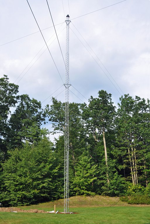 Completed 100 ft Tower in Back Yard