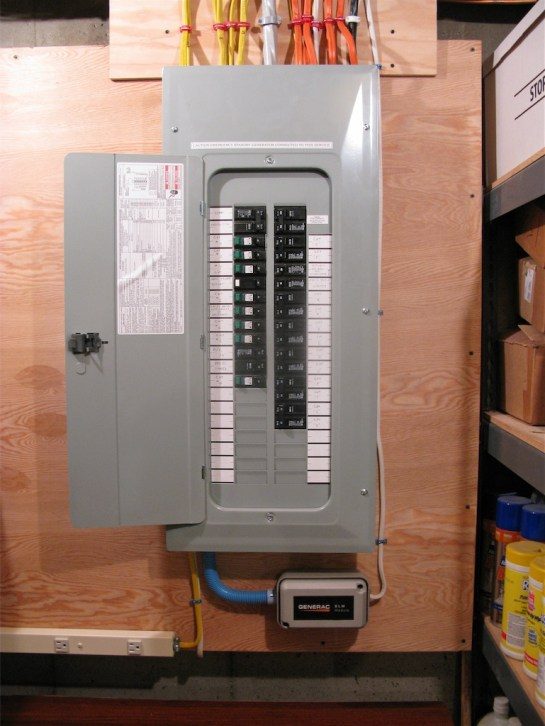 Shack Breaker Panel