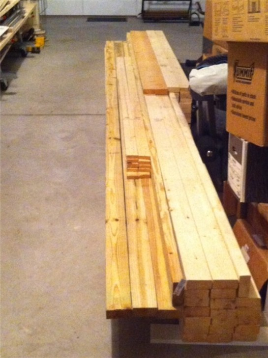 Lumber for Framing