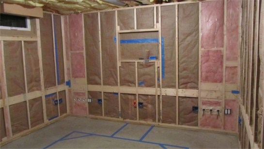 Insulation and Vapor Barrier