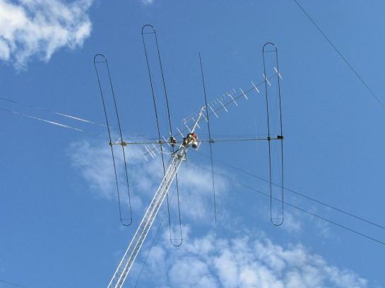 SteppIR DB36 Installation on Mast