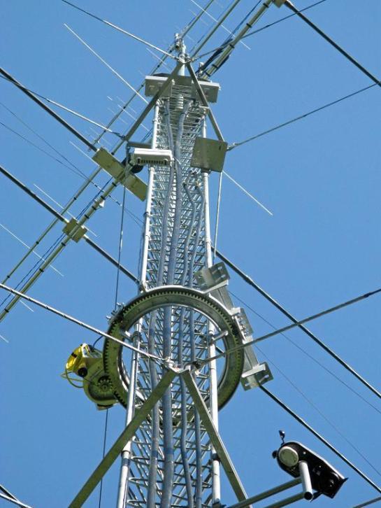 K0XG Ring Rotator at 60 ft