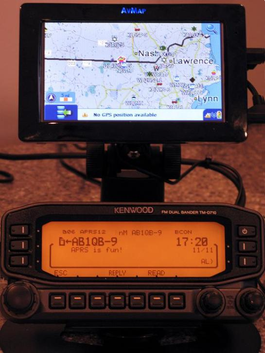 APRS Message Reception