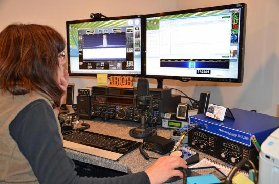 AB1QB Operating The Flex-3000 Software Defined Radio