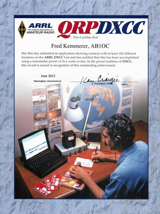 ARRL DXCC - QRP