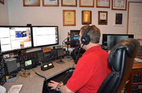 AB1OC Operating in the 2014 ARRL DX SSB Contest