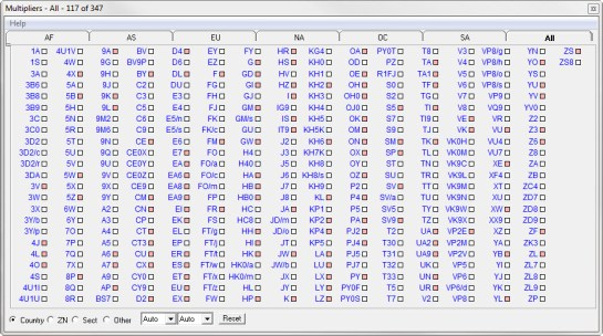 DXCC Entities Worked