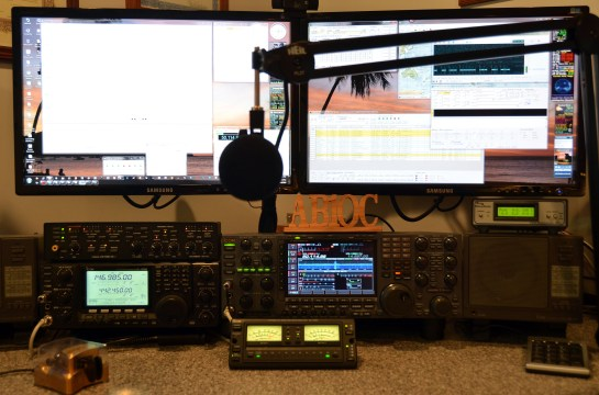 AB1OC Operating Position On 6m
