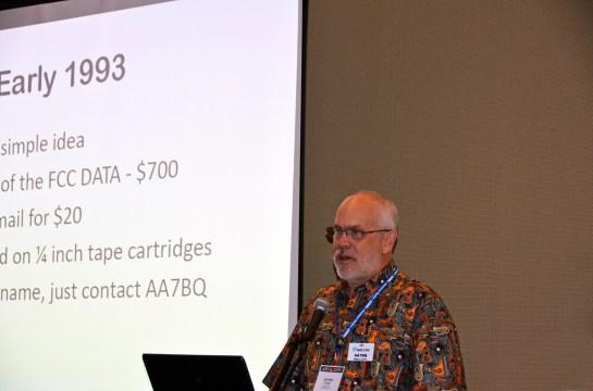 Fred Lloyd's QRZ Presentation