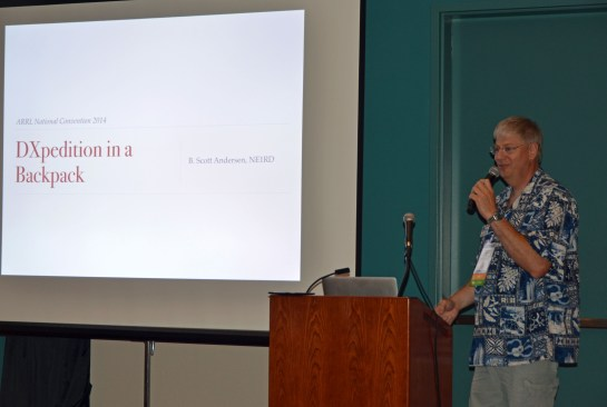 cott Andersen's DXpedition In A Backpack Presentation