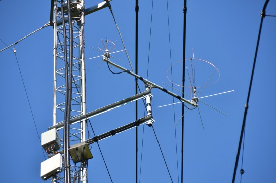 Eggbeater Antennas And Preamps SystemsOn Tower