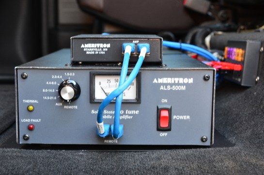 Ameritron ALS-500M Amplifier And Radio Interface