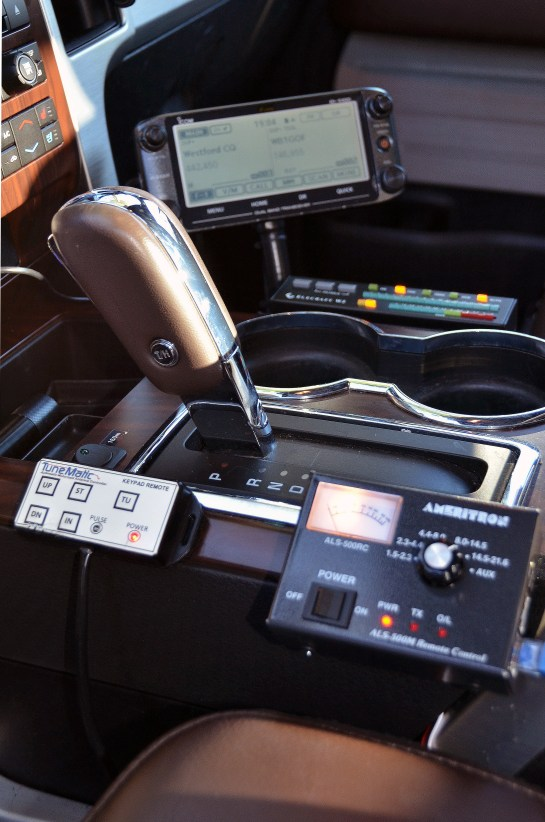 Control Layout On F-150 Console