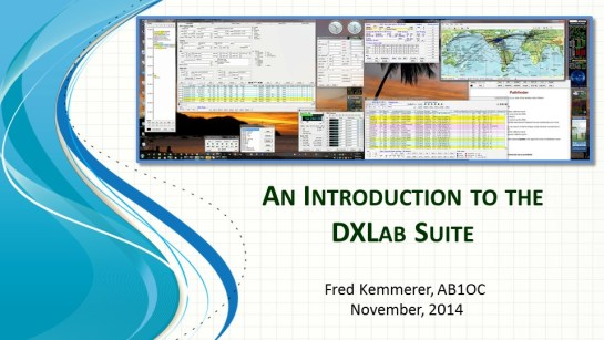 Introduction To The DXLab Suite