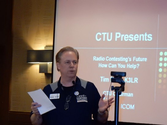 Contest University 2015 Kickoff By Tim Duffy, K3LR