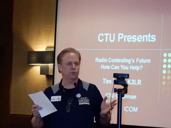 Contest University 2015 Kickoff By Tim Duffy, K3LR