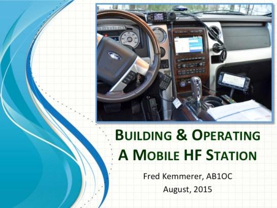 Mobile HF Presentation