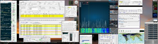 Client PC Running SmartSDR And The DXLab Suite