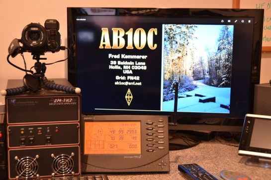 Digital ATV CQ Call