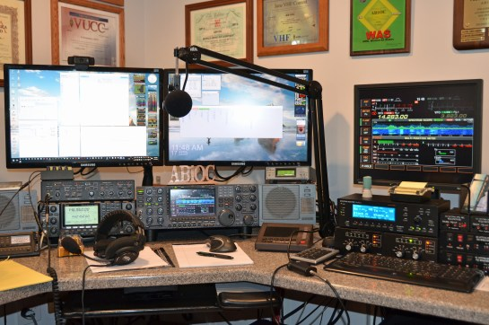 Station setup for the Contest