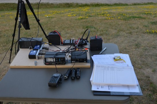 Simple Portable Satellite Station