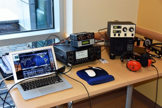 Satellite Station Portable - Radio and Supporting Equipment