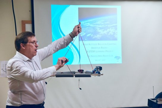Explaining Our High-Altitude Ballon Project