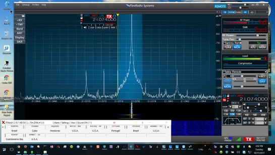 SmartSDR and JTAlert Supporting Remote FT8 Mode