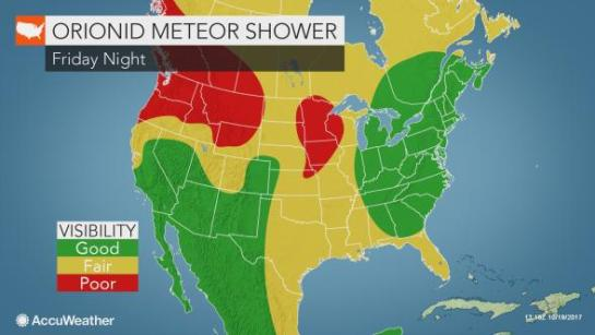 Orionid Meteor Shower Forecast
