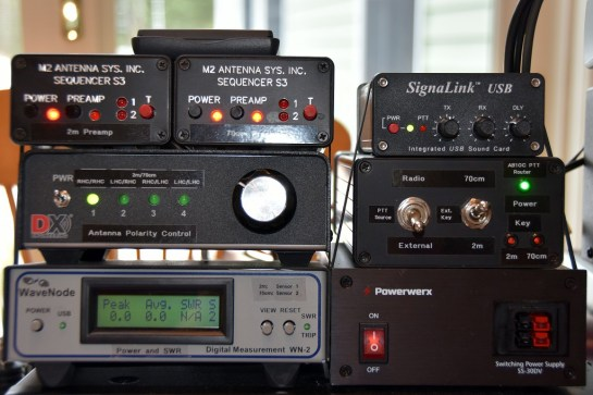 Satellite Station 3.0 Controls