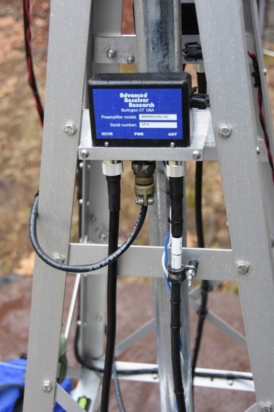 Rotator Loop Coax Retention System