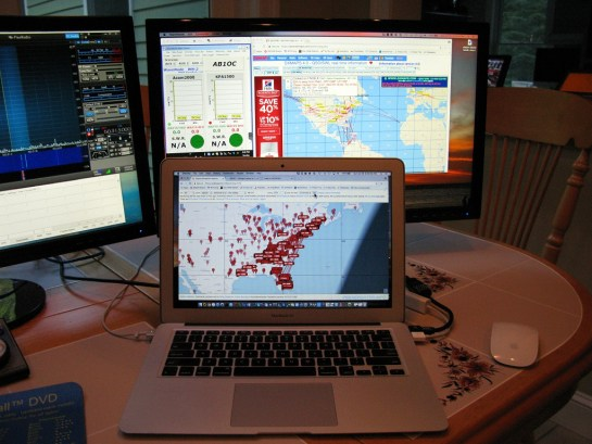 Reverse Beacon Network and Station Monitoring Computer