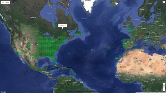 AB1OC Worldwide 6m Grids