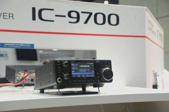 Working IC-9700 On Display In Tokyo