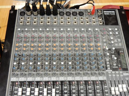 Mixing Board at HMS