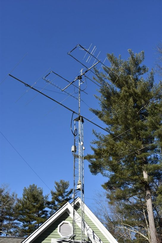 Completed Antenna Stack On New Tower