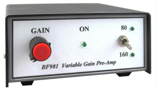 KD9SV Variable Gain Preamp