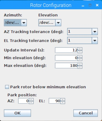 GH Tracker Rotator Configuration