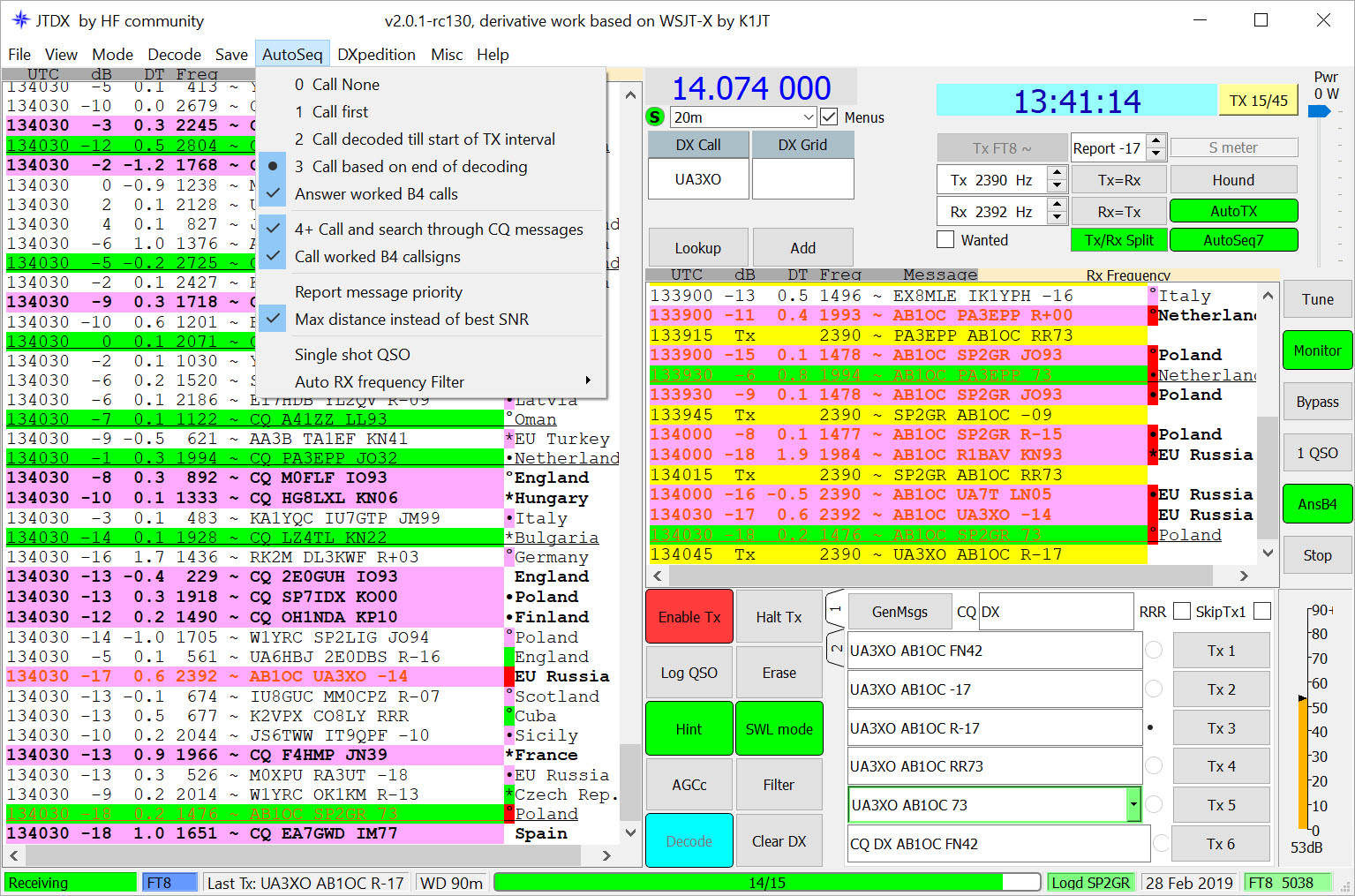 Montana Motor Stables: JTDX – Feature Rich Software for FT8 and