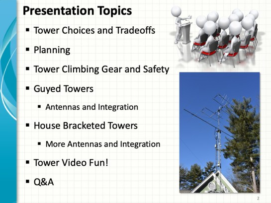 Amatuer Radio Video How-To – Putting Up A Tower